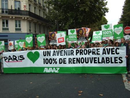 Climate march Paris 1