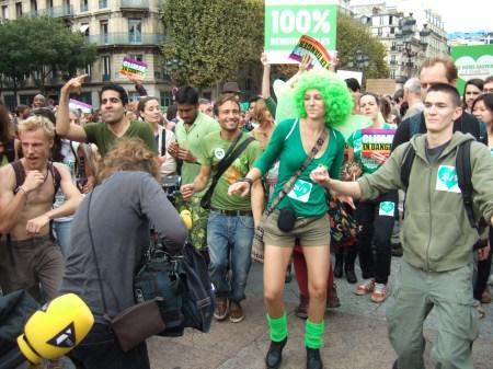 Climate march Paris 2