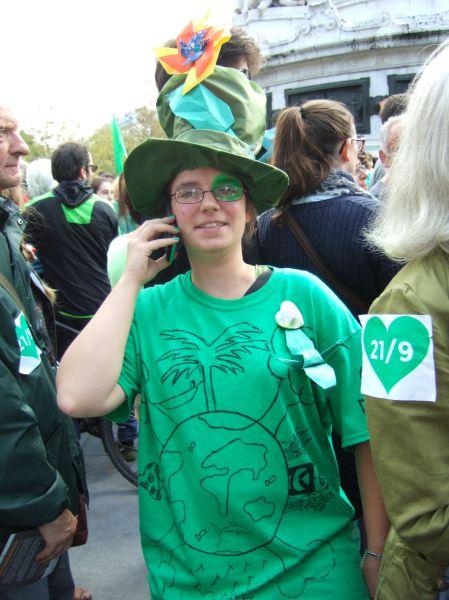 Climate march Paris 9