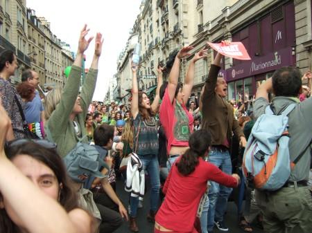 Climate march Paris 99