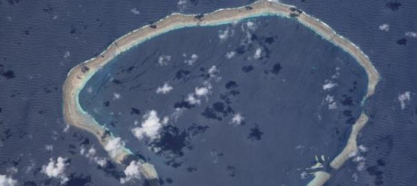 Carteret Island NASA